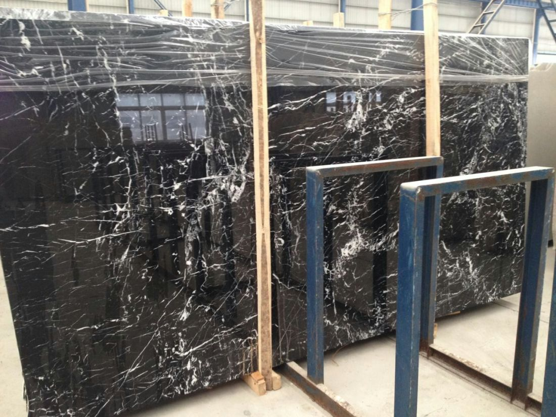 China Black Marquina better type