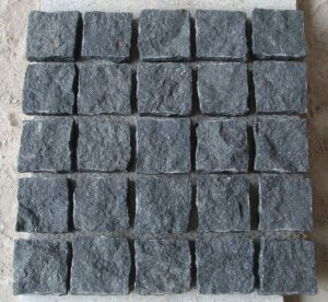 Crystal Black Split Cobbles