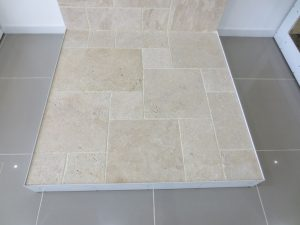 Ivory Travertine, cross cut unfilled