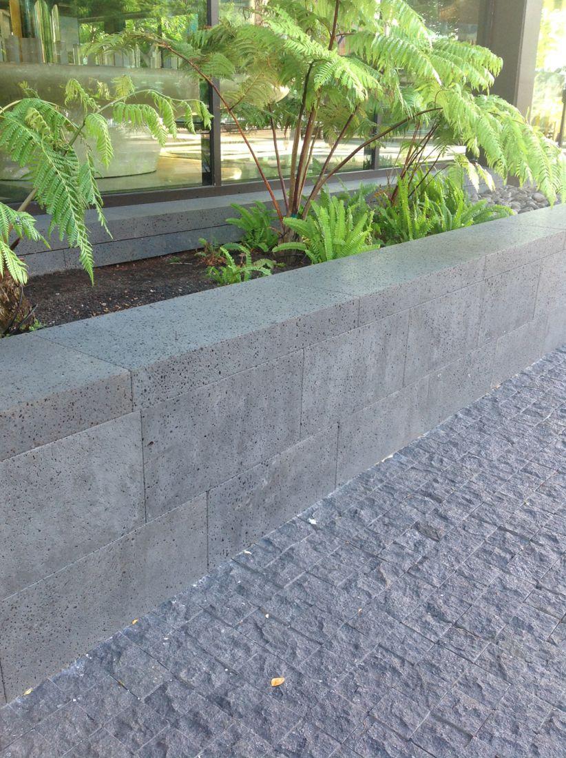 Lava Basalt planter
