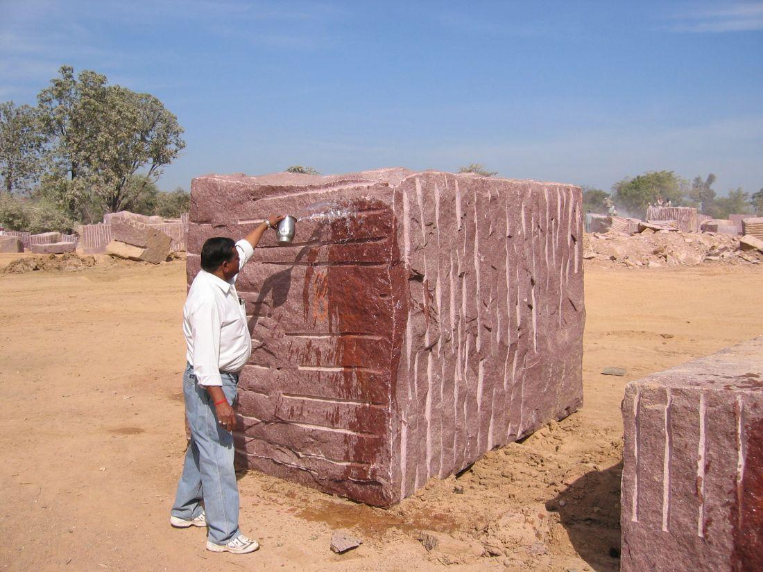 Santu with huge block